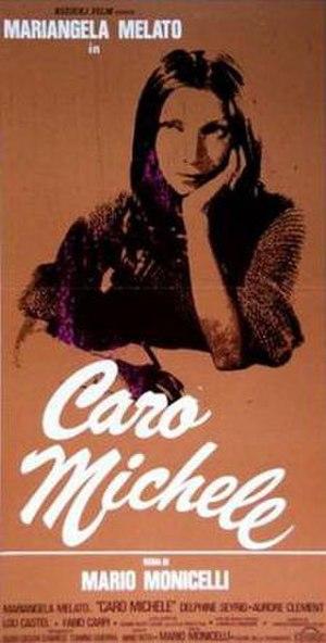 Caro Michele - Film poster