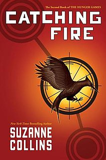<i>Catching Fire</i> 2009 book by Suzanne Collins