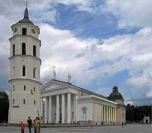 Roman Catholic Archdiocese of Vilnius - Cathedral of the Archdiocese