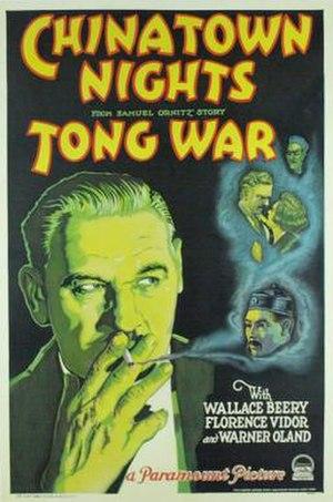 Chinatown Nights (1929 film) - Image: Chinatown Nights Film Poster