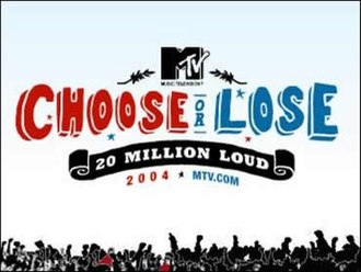MTV - MTV Choose or Lose logo