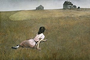 Image result for christina's world andrew wyeth