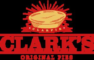 Clark's Pies - Image: Clark's Pies logo