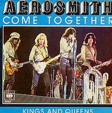 Image result for aerosmith come together images