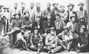 A group of Confederate soldiers