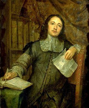 Cornelis de Bie - Cornelis de Bie by Gonzales Coques