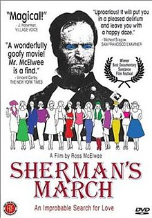 DVD cover of Sherman's March (1986 film).jpg