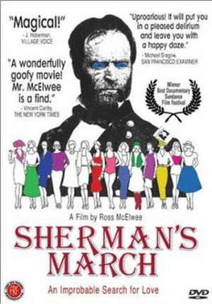 Sherman's March (1986 film) - DVD cover