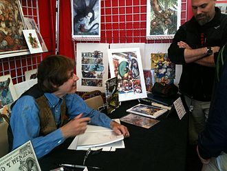 David Wenzel - Wenzel appeared at That's Entertainment in Worcester MA on Free Comic Book Day, May 5, 2012
