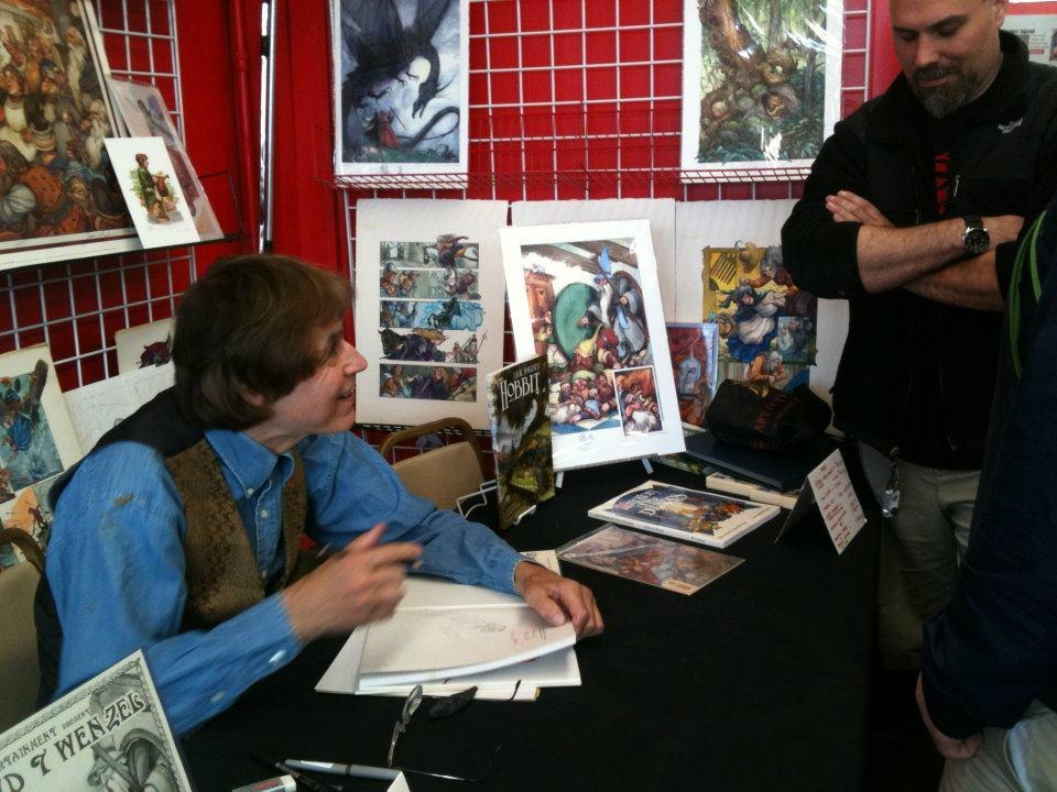 David Wenzel at That's Entertainment for FCBD 2012-05-05