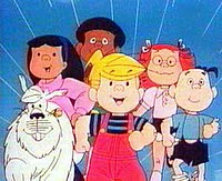 Dennis the Menace cartoon 86-88