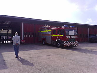 Devon and Somerset Fire and Rescue Service - Water Tender