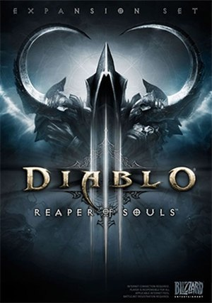 Diablo III: Reaper of Souls - Box art