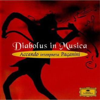 Diabolus in Musica, Accardo interpreta Paganini - Image: Diabolus in Musica, Accardo interpreta Paganini