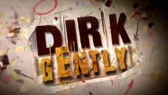 Dirk Gently (TV series) - Image: Dirk Gently titlescreen 2