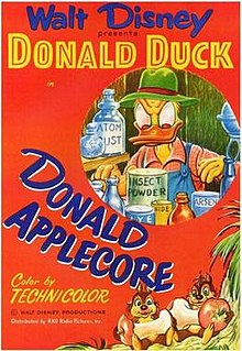 <i>Donald Applecore</i> 1952 Donald Duck cartoon