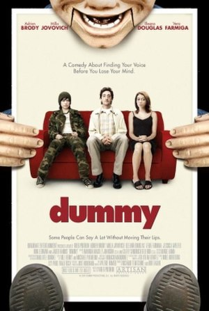 Dummy (film) - Theatrical release poster