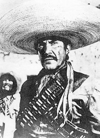 Emilio Fernández - Emilio Fernández in the film The Soldiers of Pancho Villa (1959)