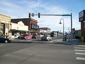 Ferndale, Washington - Downtown Ferndale