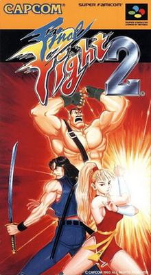[Análise Retro Game] - Final Fight 2 e 3 - Super Nintendo 220px-Final_Fight_2_cover