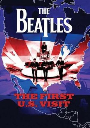 The Beatles: The First U.S. Visit - DVD cover of The Beatles: The First U.S. Visit