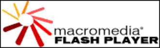 Adobe Flash Player - The old Macromedia Flash Player logo