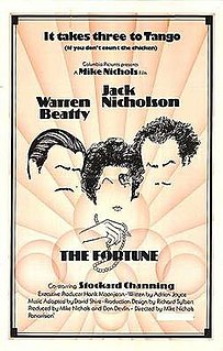 <i>The Fortune</i> 1975 film by Mike Nichols