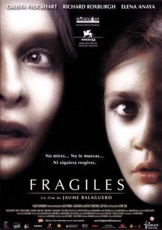 Fragile (film) - Theatrical poster