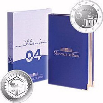 Euro proof sets - Image: France BE set A
