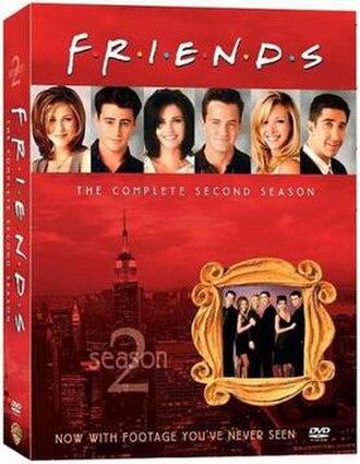 Friends (season 2) - Image: Friends Season 2 DVD