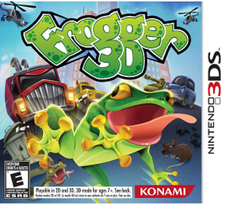 Frogger 3D - North American cover art