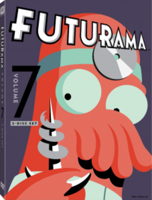 Futurama (season 7) - Image: Futurama Volume 7