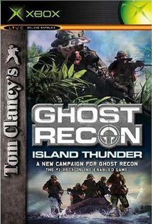 Tom Clancy's Ghost Recon: Island Thunder - Image: GRIT boxart