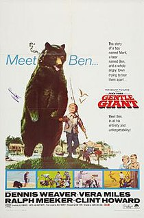 <i>Gentle Giant</i> (film) 1967 film by James Neilson
