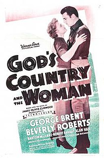 <i>Gods Country and the Woman</i> 1937 film by William Keighley