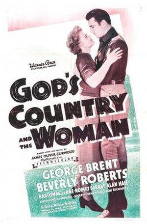 God's Country and the Woman - Theatrical release poster