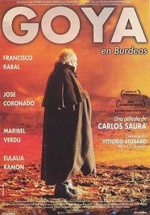 Goya in Bordeaux - Spanish film poster