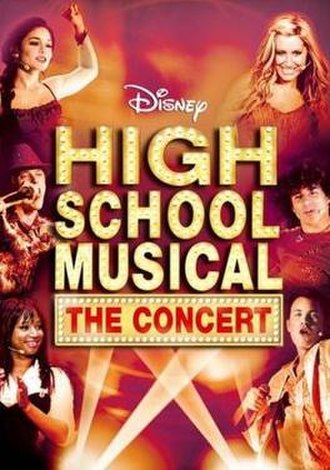 High School Musical: The Concert - Image: HSM The Concert