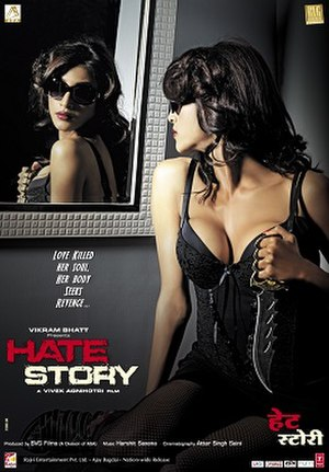 Hate Story - Theatrical release poster