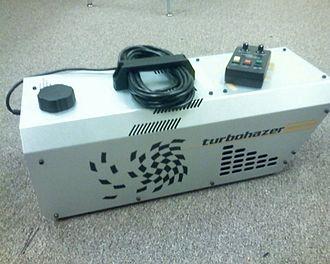 Haze machine - A haze machine with remote control