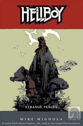 Hellboy: Strange Places - Trade Paperback Cover