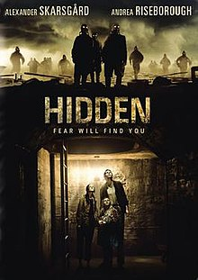 Theatrical release poster for the 2015 film Hidden, released by Warner Bros.