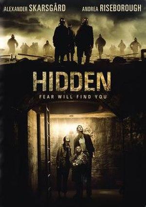 Hidden (2015 film) - Theatrical release poster