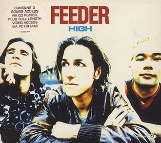 High (Feeder song) - Image: High single Feeder