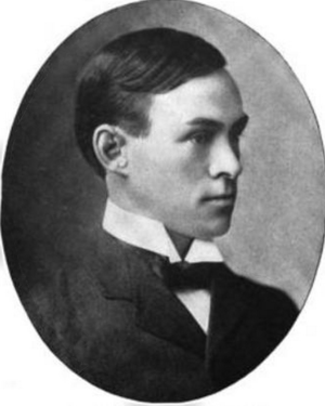 "Howard Abbott - Photograph of Abbott from ""Notable Men of the West"" (1902)"
