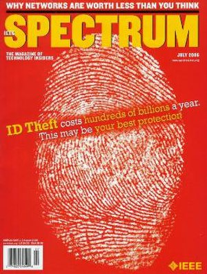 IEEE Spectrum - Front cover of the July 2006 issue