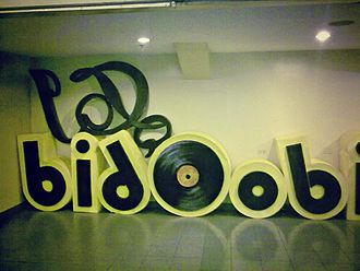 I Do Bidoo Bidoo: Heto nAPO Sila! - The I Do Bidoo Bidoo promotional caricature at SM Megamall.