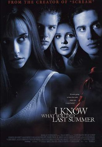 I Know What You Did Last Summer - Theatrical release poster