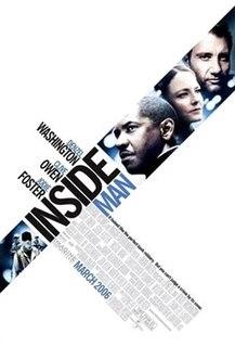 <i>Inside Man</i> 2006 film by Spike Lee
