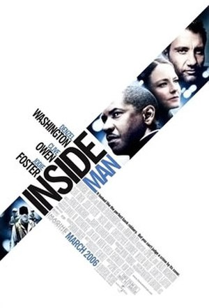 Inside Man - Theatrical release poster